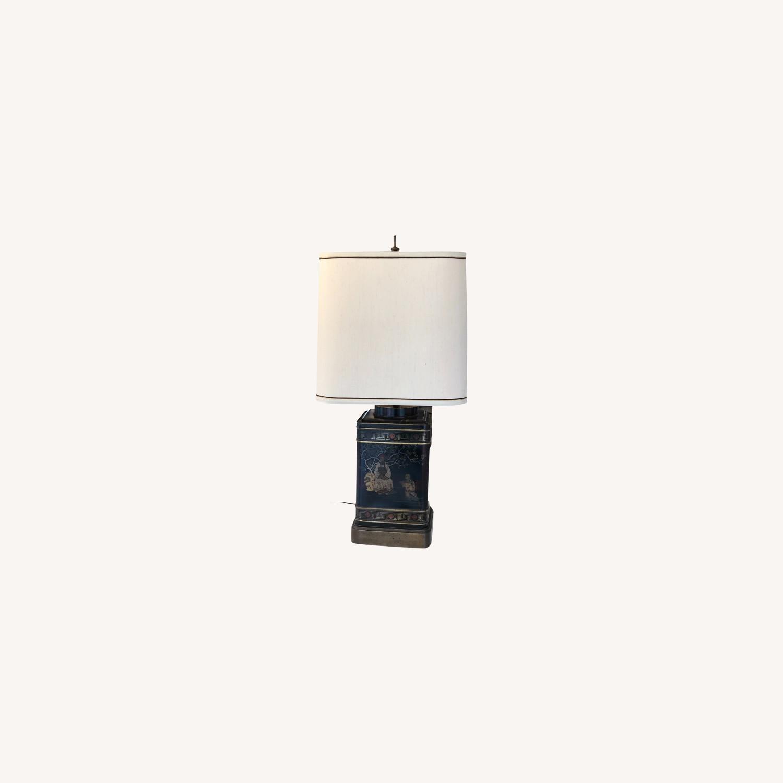 Frederick Cooper Chinoiserie Tea Tin Lamp - image-0