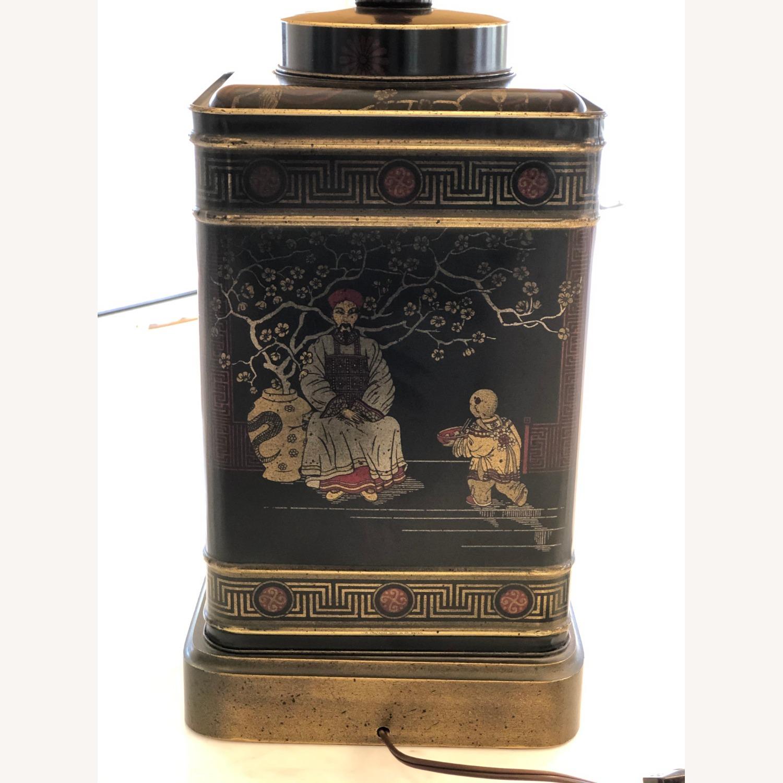 Frederick Cooper Chinoiserie Tea Tin Lamp - image-5