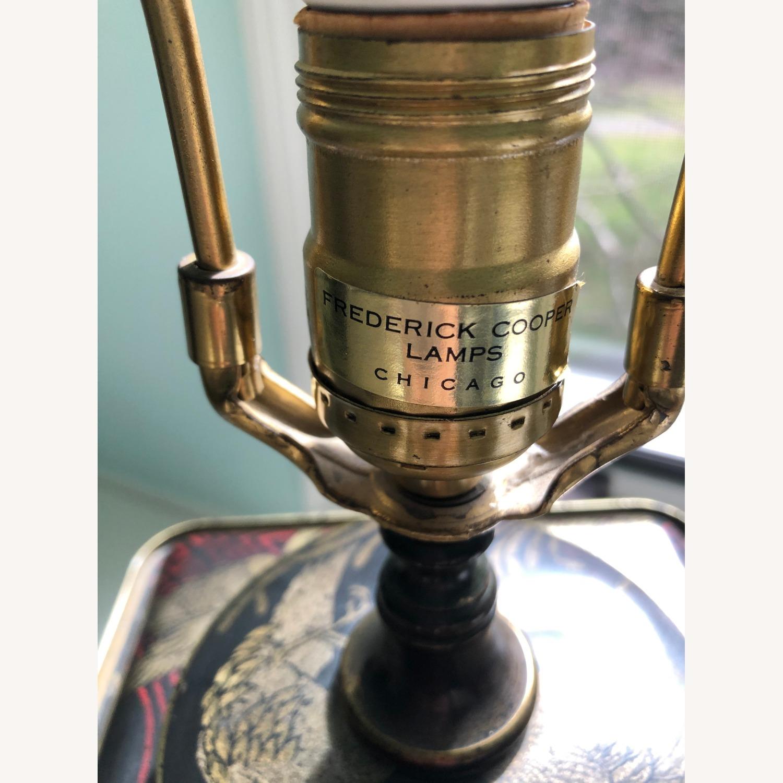Frederick Cooper Chinoiserie Tea Tin Lamp - image-9