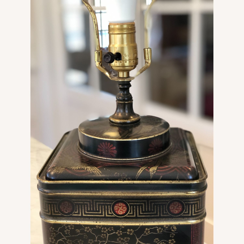 Frederick Cooper Chinoiserie Tea Tin Lamp - image-8
