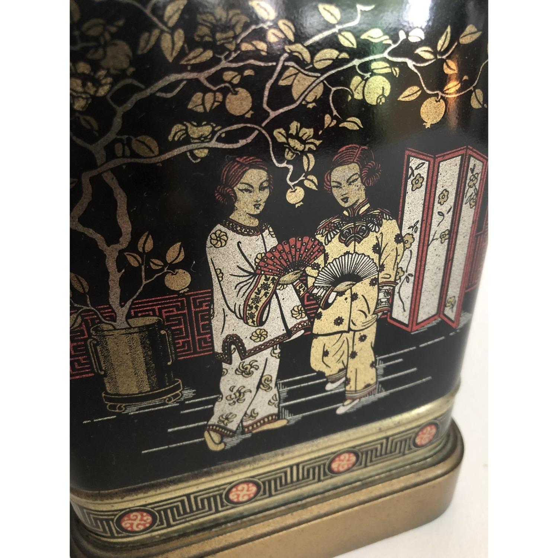 Frederick Cooper Chinoiserie Tea Tin Lamp - image-2