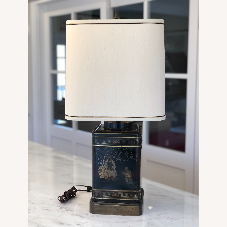 Frederick Cooper Chinoiserie Tea Tin Lamp - image-1