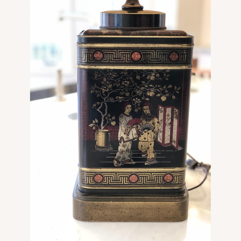 Frederick Cooper Chinoiserie Tea Tin Lamp - image-4