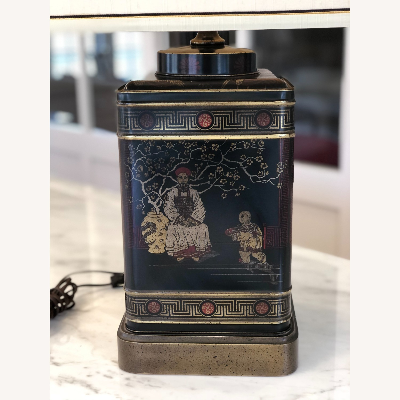 Frederick Cooper Chinoiserie Tea Tin Lamp - image-3