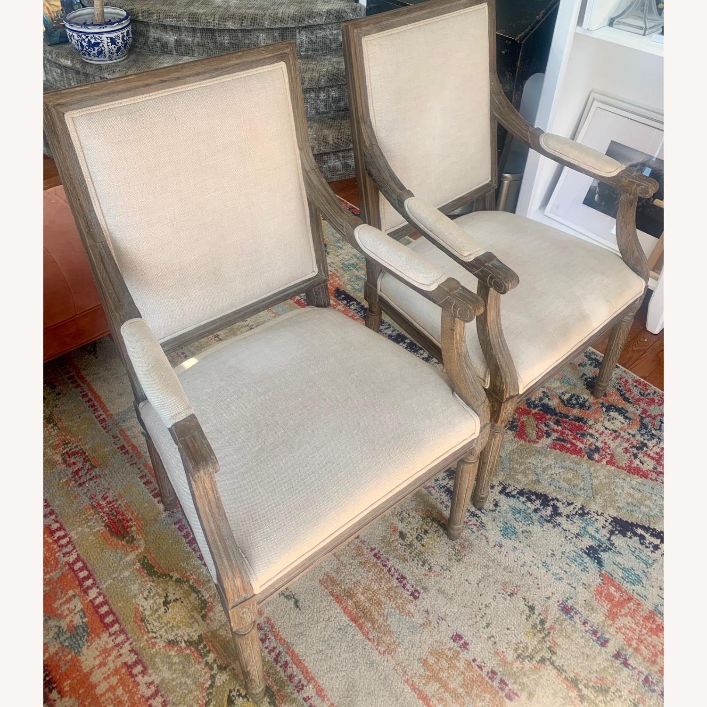 Restoration Hardware Vintage French Armchairs - image-3
