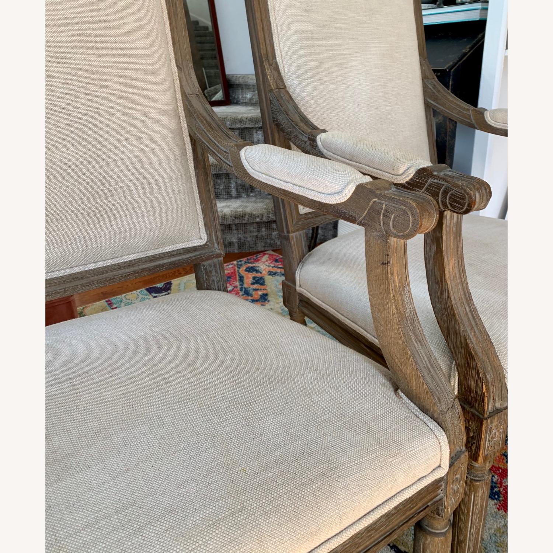 Restoration Hardware Vintage French Armchairs - image-2