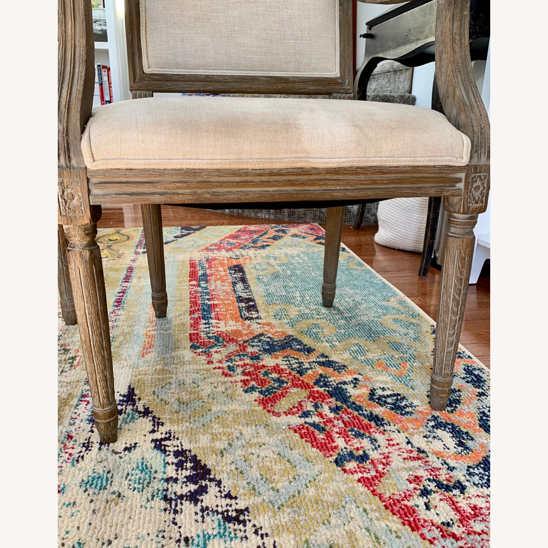 Restoration Hardware Vintage French Armchairs - image-4