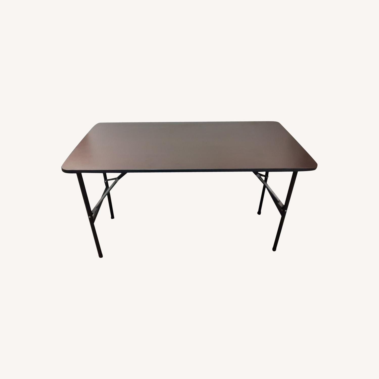 Iceberg Economy Rectangle Folding Table - image-0