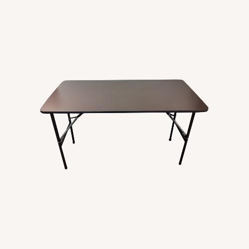 Used Iceberg Economy Rectangle Folding Table for sale on AptDeco
