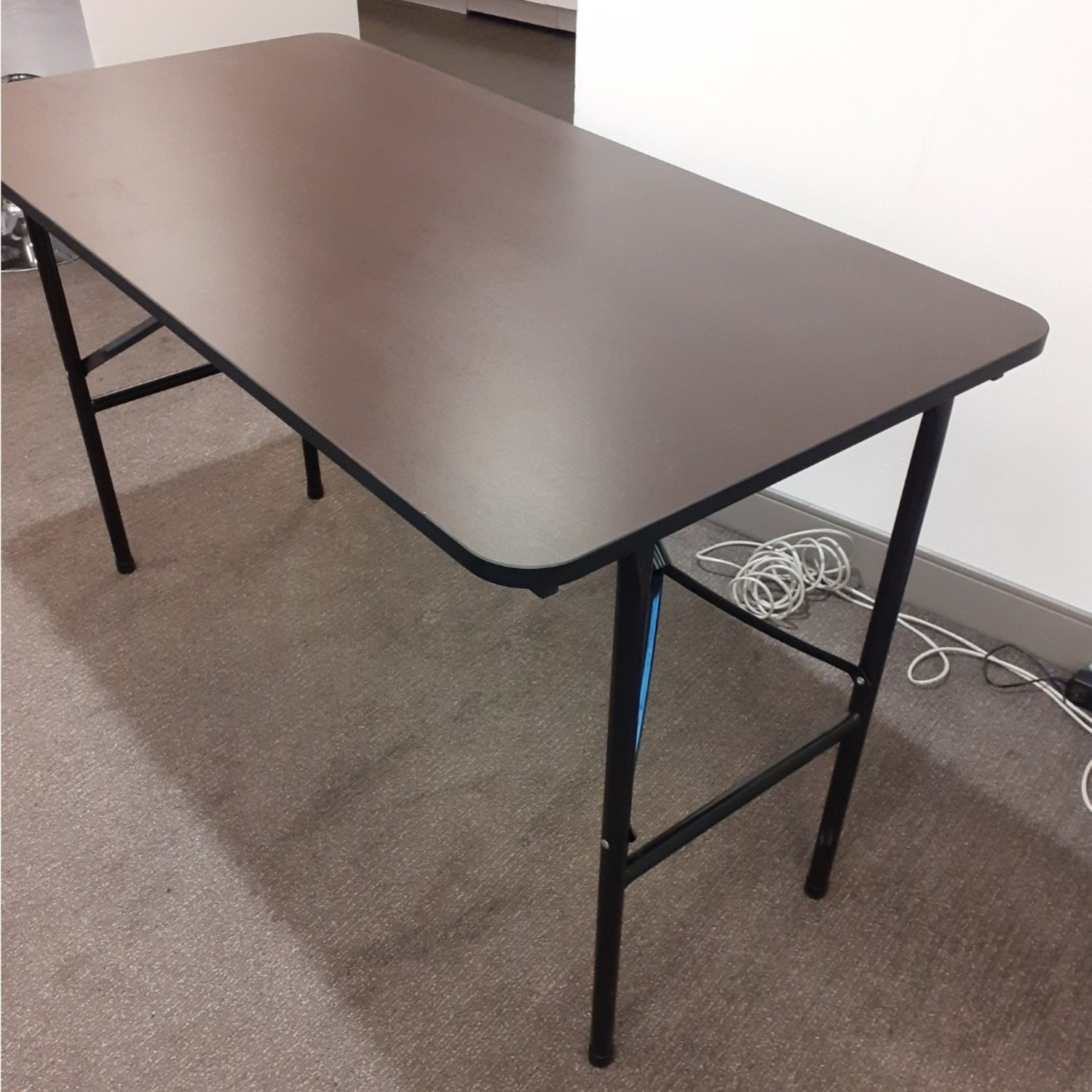 Iceberg Economy Rectangle Folding Table - image-1