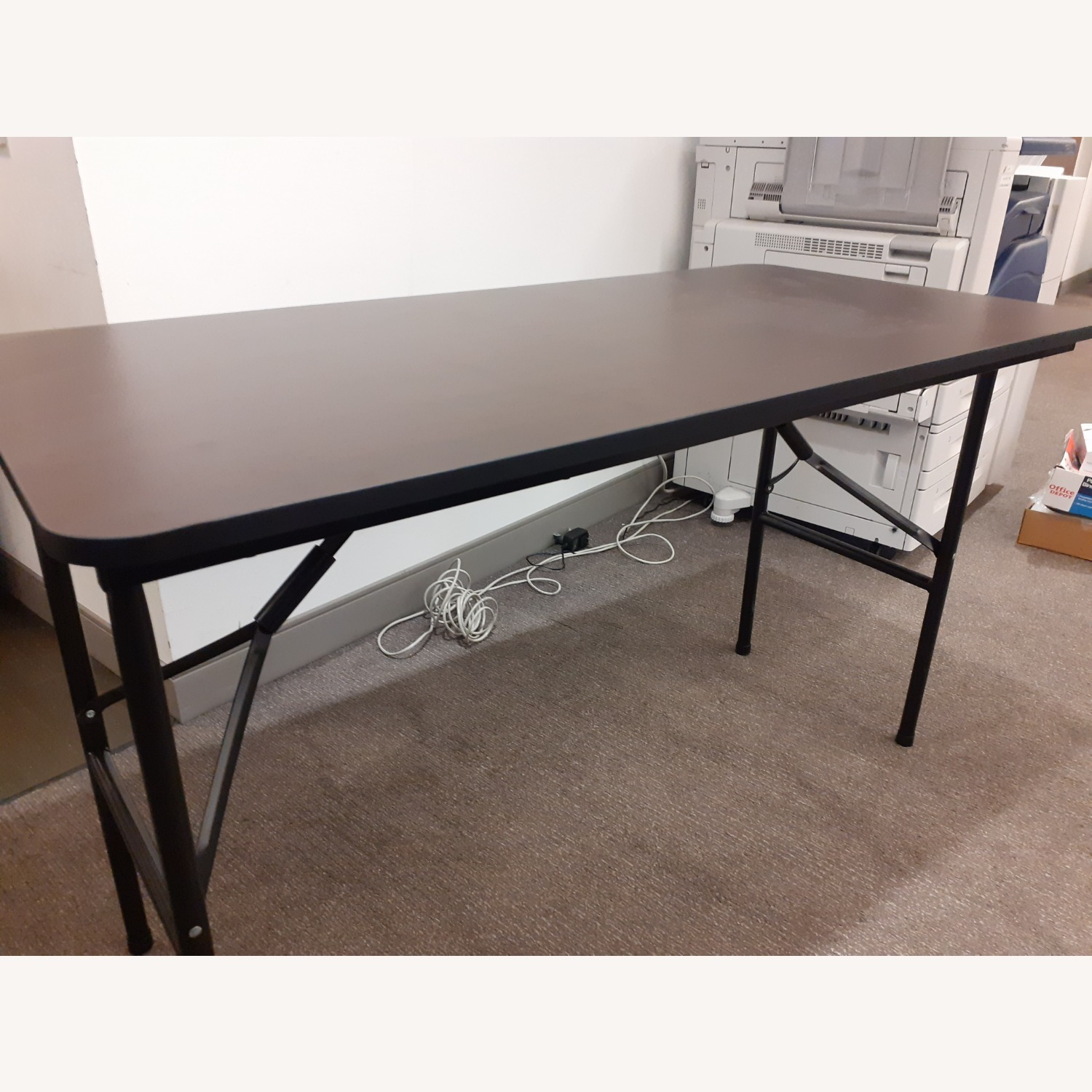 Iceberg Economy Rectangle Folding Table - image-11