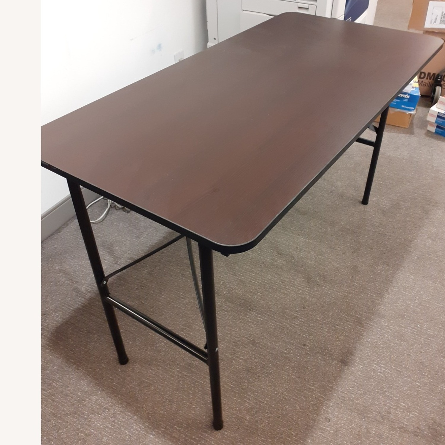 Iceberg Economy Rectangle Folding Table - image-3