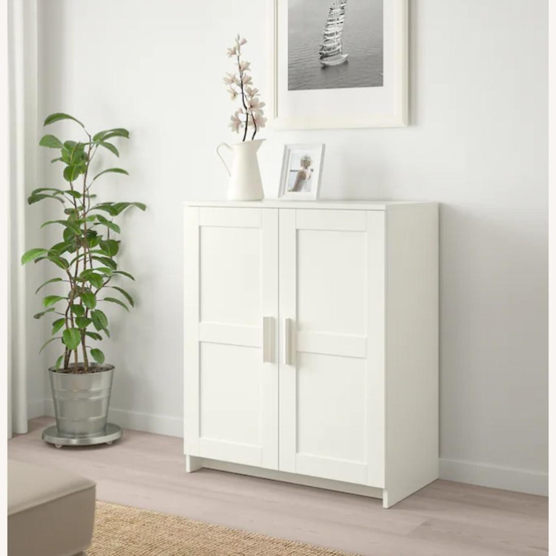 IKEA BRIMNES Cabinet with Doors - image-1