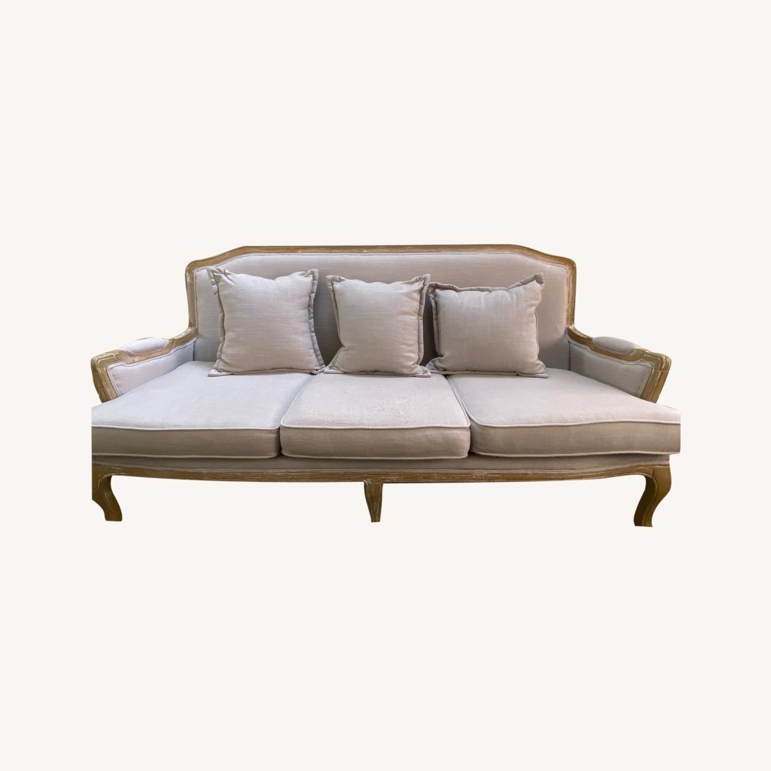 Wayfair Lark Manor Milieu Classic French Sofa - image-0