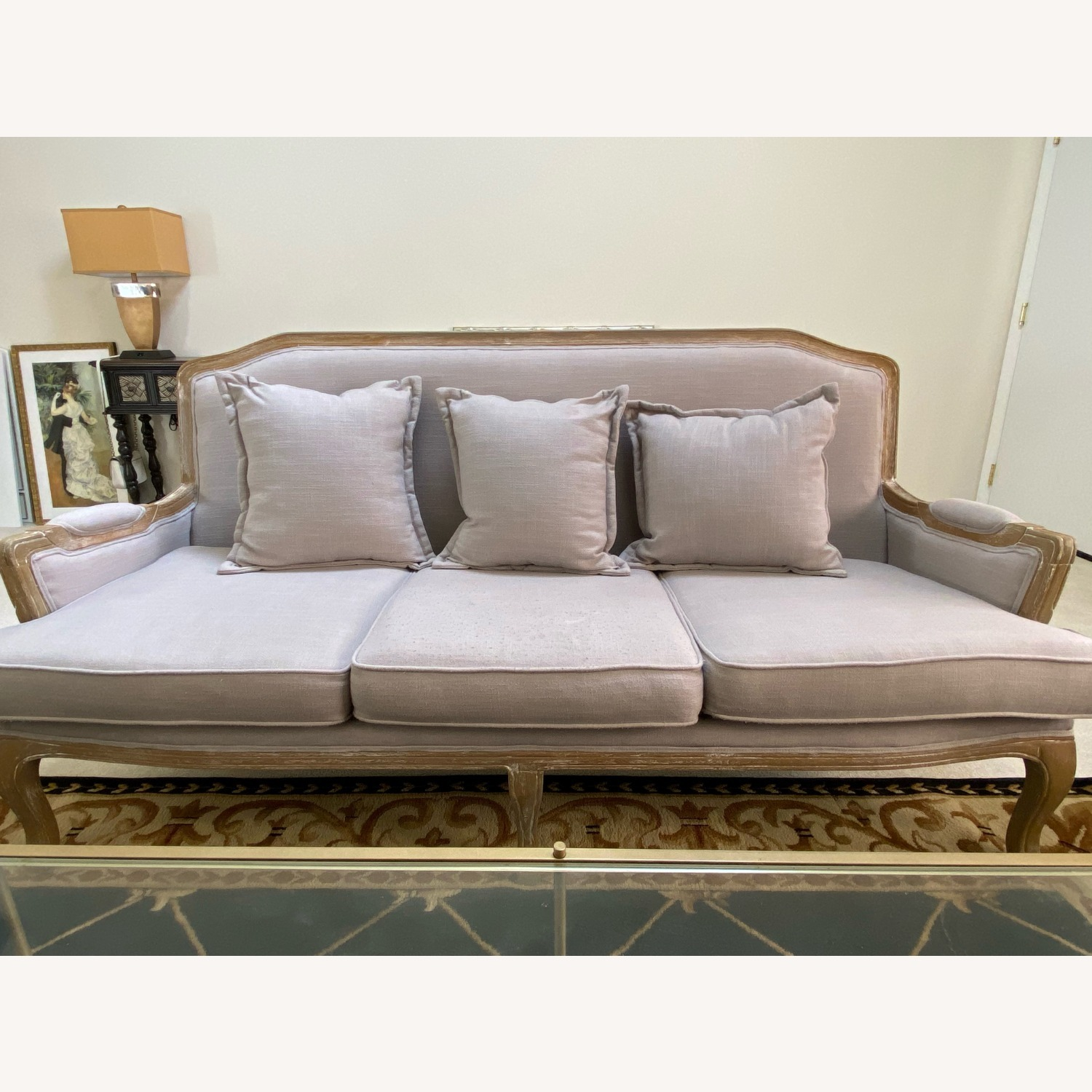 Wayfair Lark Manor Milieu Classic French Sofa - image-1