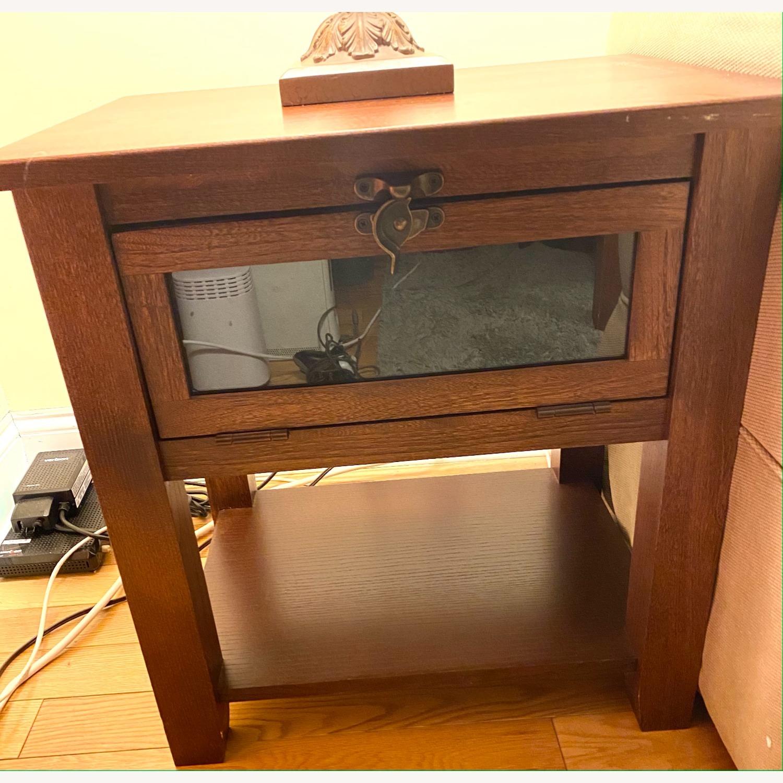 Oak Living Room Side Tables - image-1