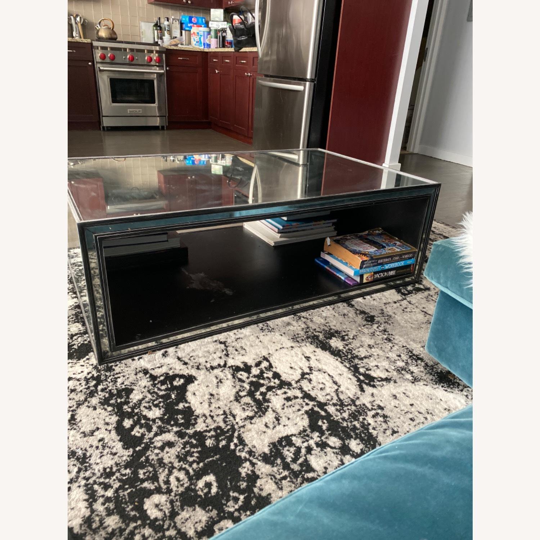 Restoration Hardware Strand Mirrored Coffee Table - image-1