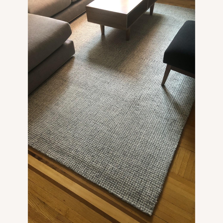 100% Wool Area Rug 8x10 - image-5