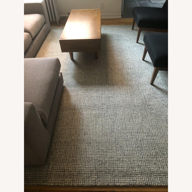 100% Wool Area Rug 8x10 - image-6