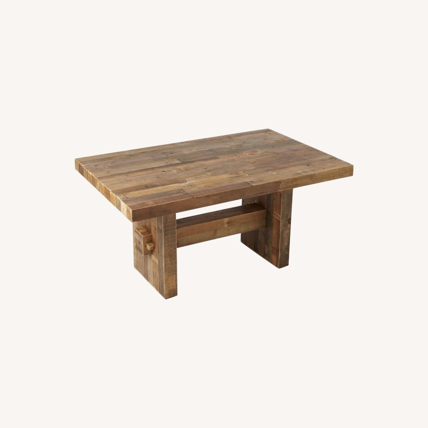 West Elm Emerson Reclaimed Wood Table - image-0
