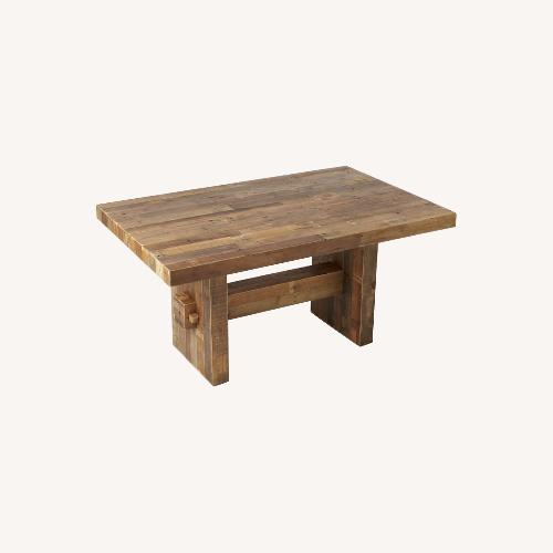 Used West Elm Emerson Reclaimed Wood Table for sale on AptDeco