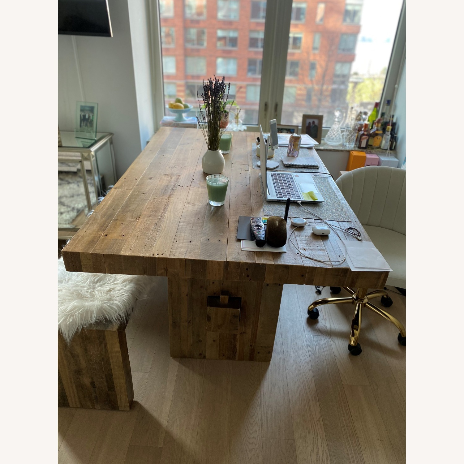 West Elm Emerson Reclaimed Wood Table - image-3