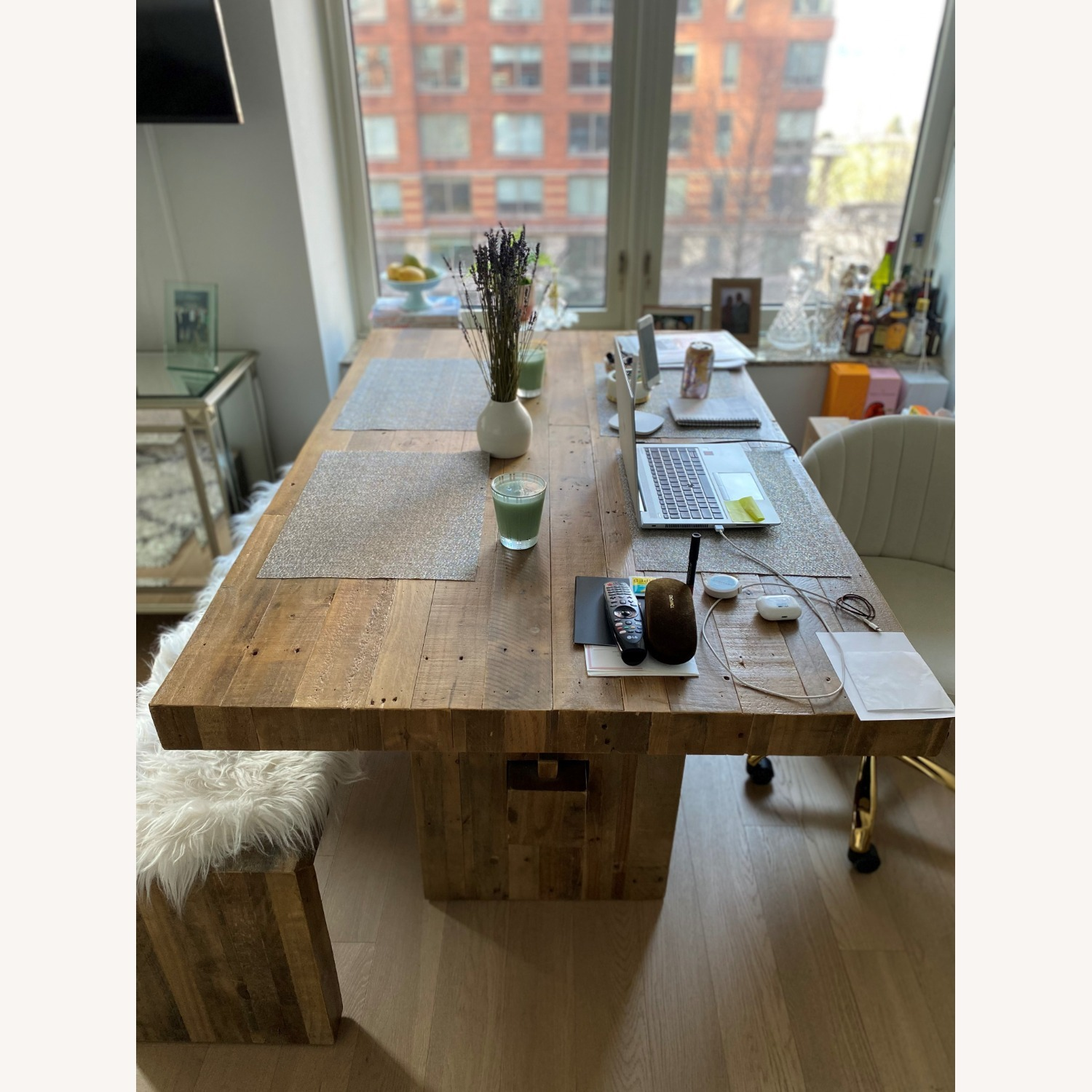 West Elm Emerson Reclaimed Wood Table - image-2