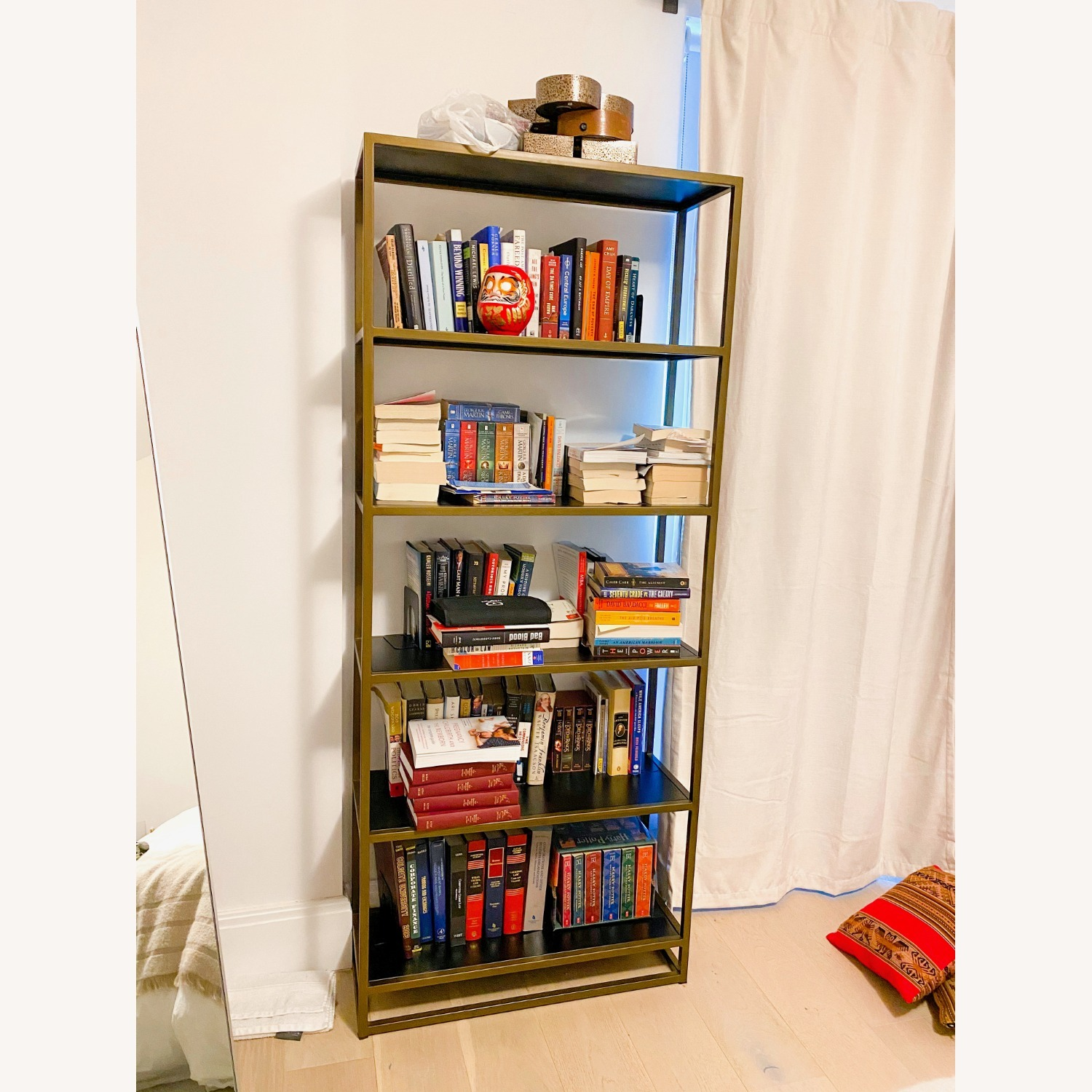 Crate & Barrel Compact Bookcase - image-1