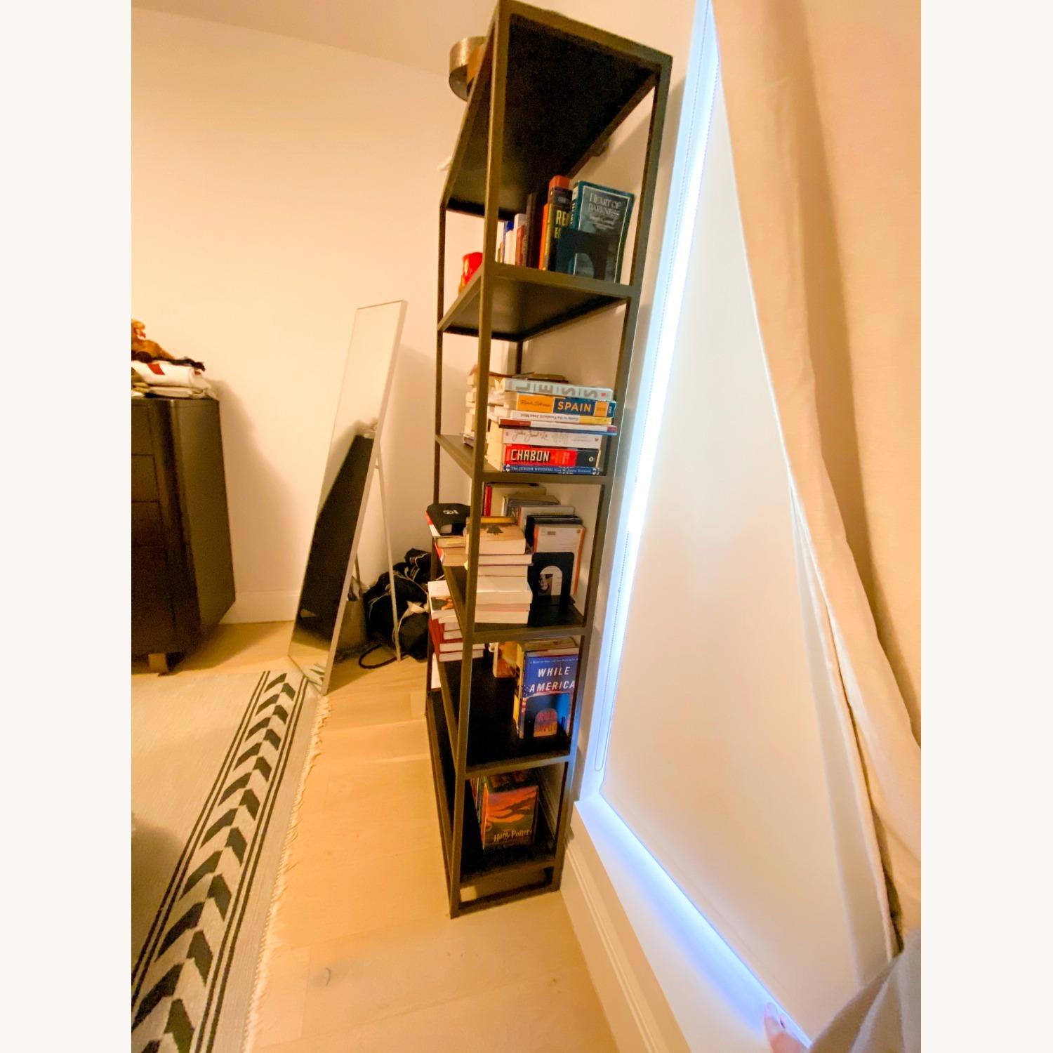 Crate & Barrel Compact Bookcase - image-2