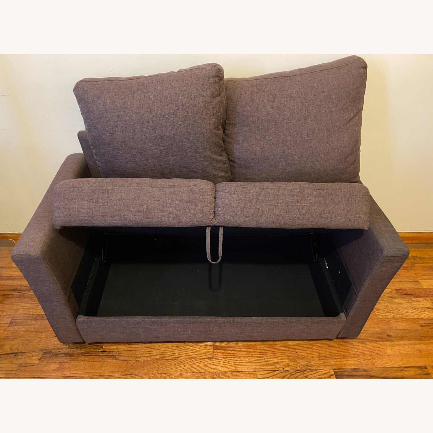 Two Seater Sofa with Storage - image-2