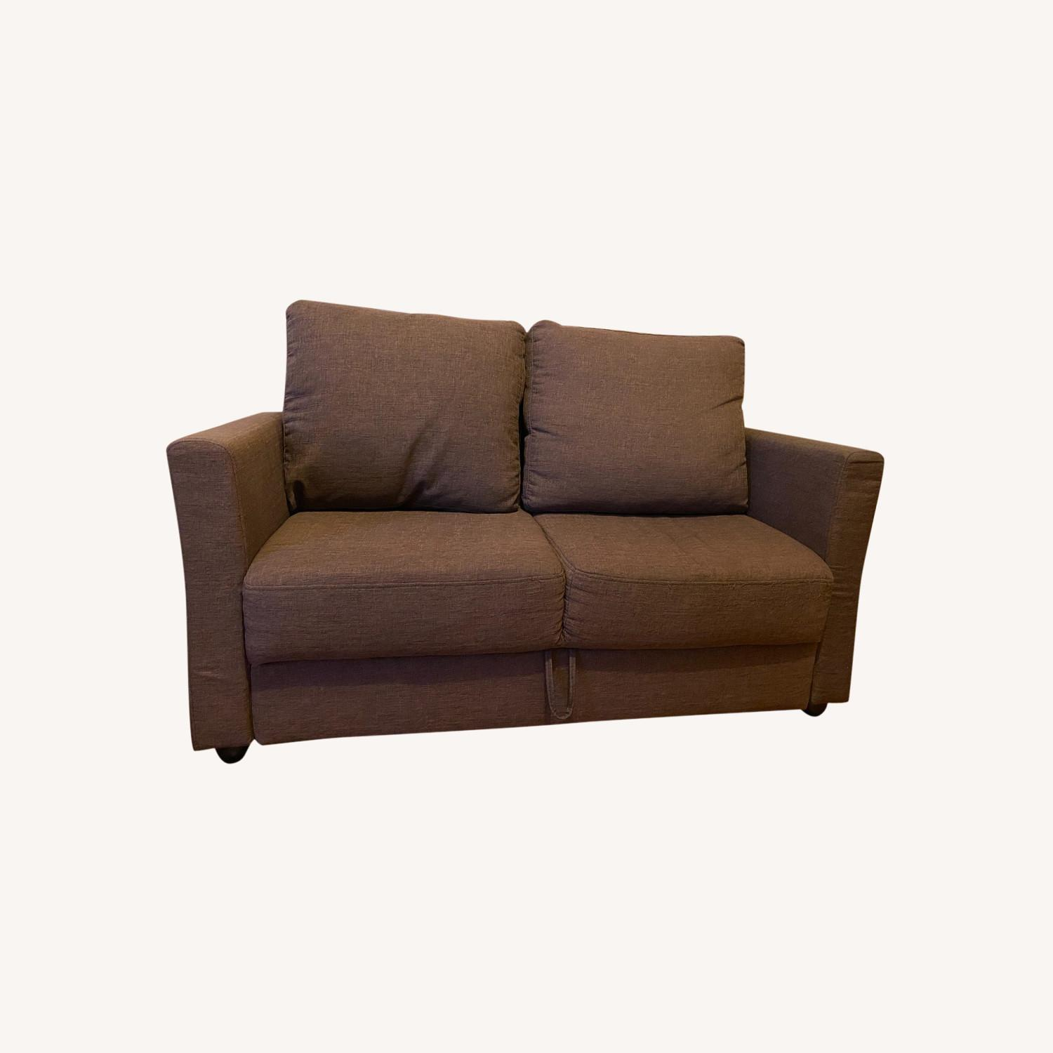Two Seater Sofa with Storage - image-0