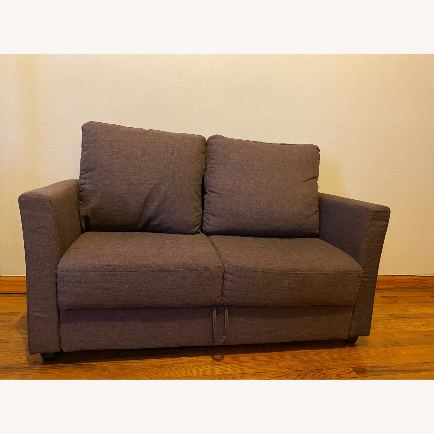 Two Seater Sofa with Storage - image-1