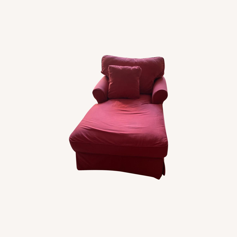 Ballard Designs Baldwin Chaise Lounge - image-0
