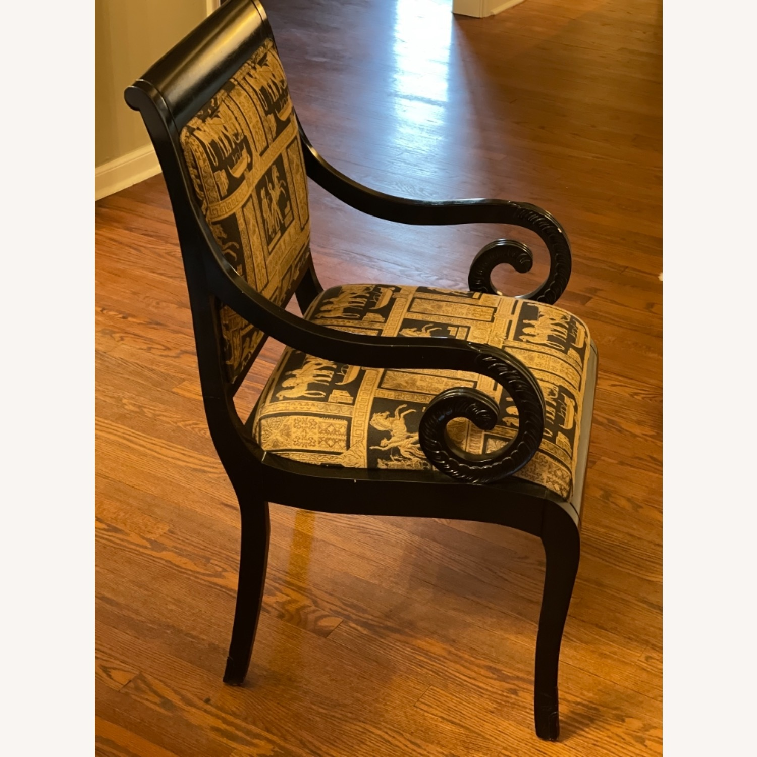 Black Lacquer Chairs - image-2