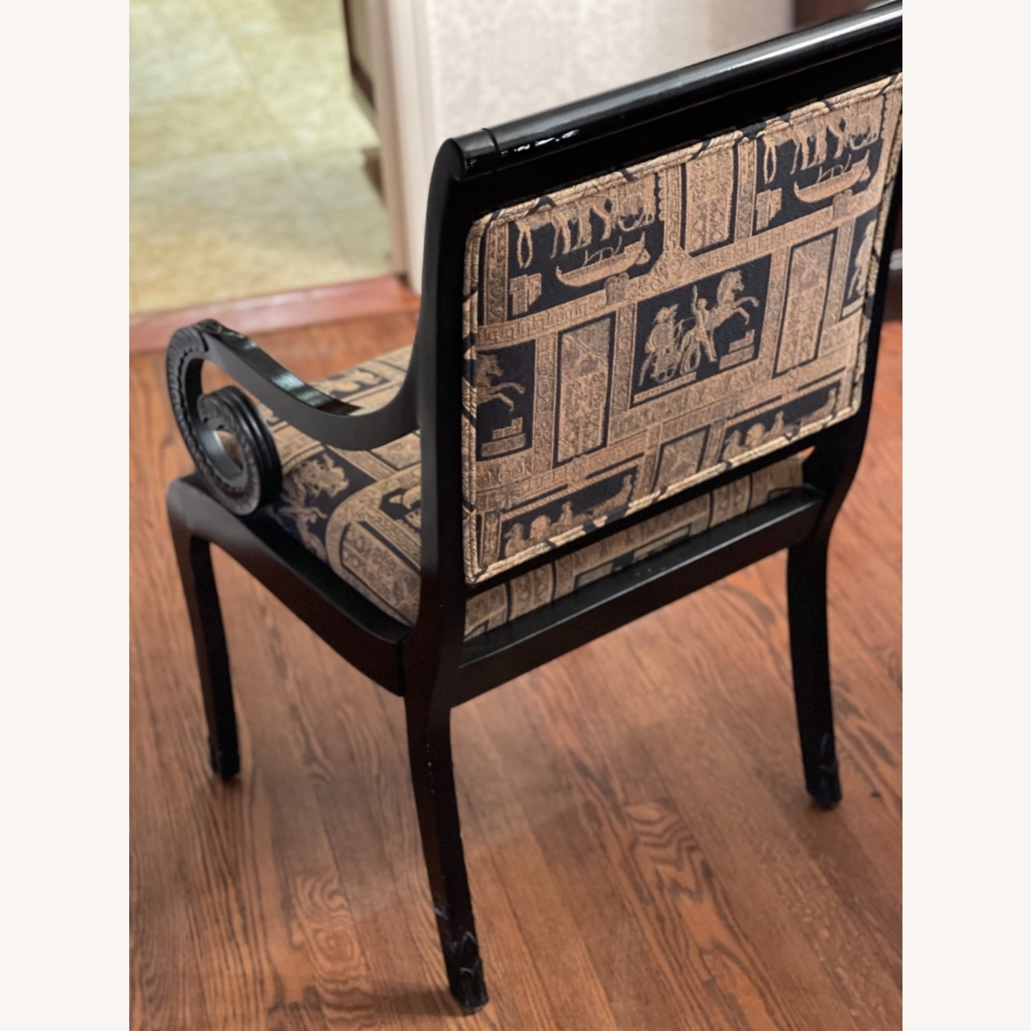 Black Lacquer Chairs - image-4