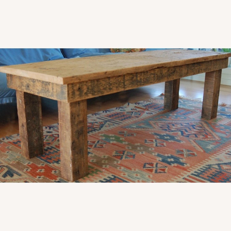 Vintage Barnwood Coffee Table - image-3