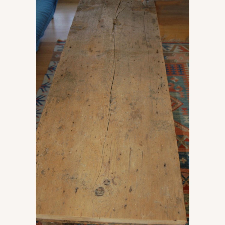 Vintage Barnwood Coffee Table - image-4