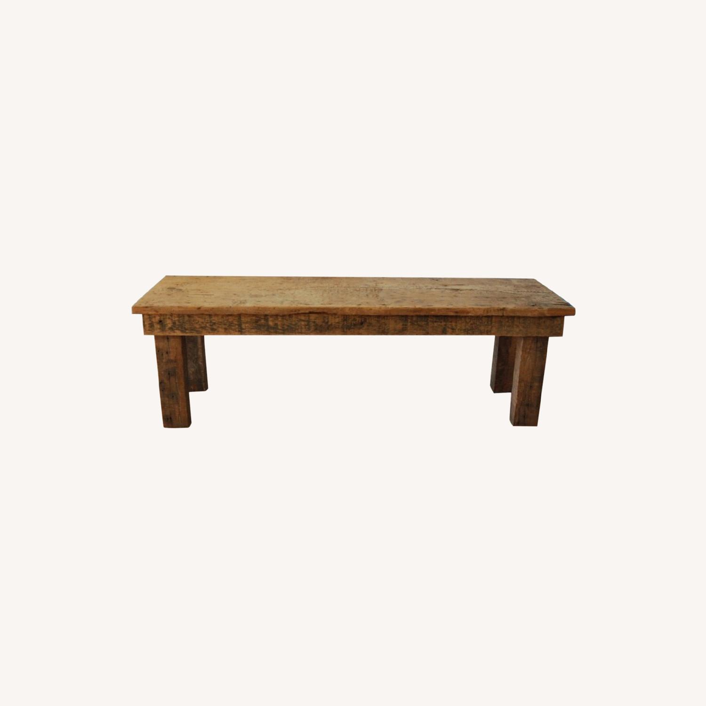 Vintage Barnwood Coffee Table - image-0
