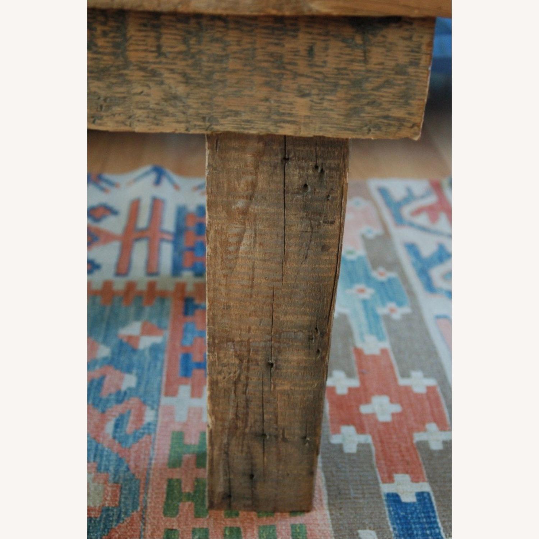 Vintage Barnwood Coffee Table - image-2