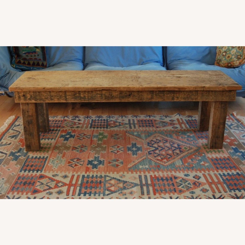 Vintage Barnwood Coffee Table - image-1