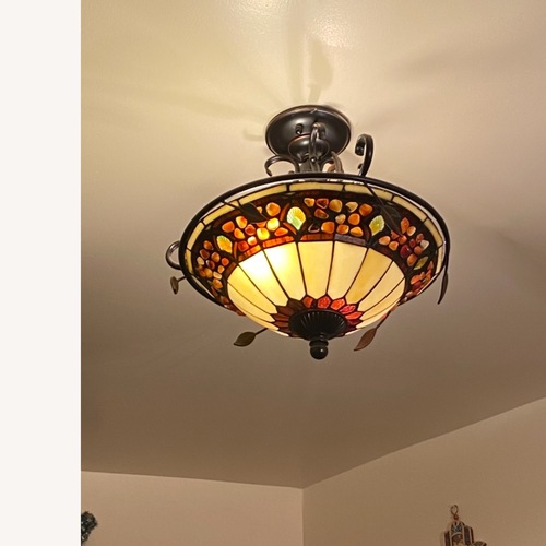 Used Dale Tiffany Ceiling Lamp for sale on AptDeco