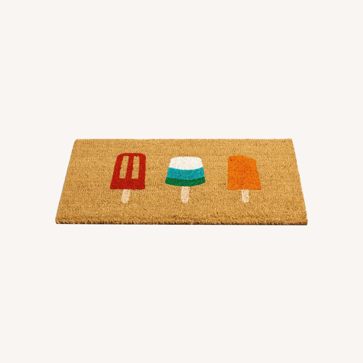 Hand-Painted Popsicle Doormat - image-0