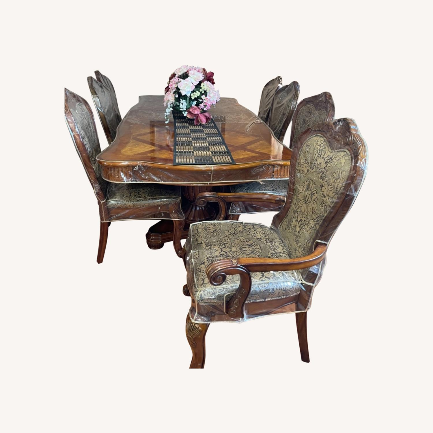 Dining Table Set with 8 Chairs - image-0