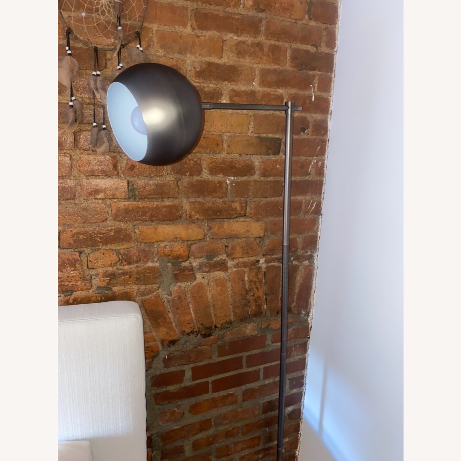 Adorable Silver Reading Light - image-1