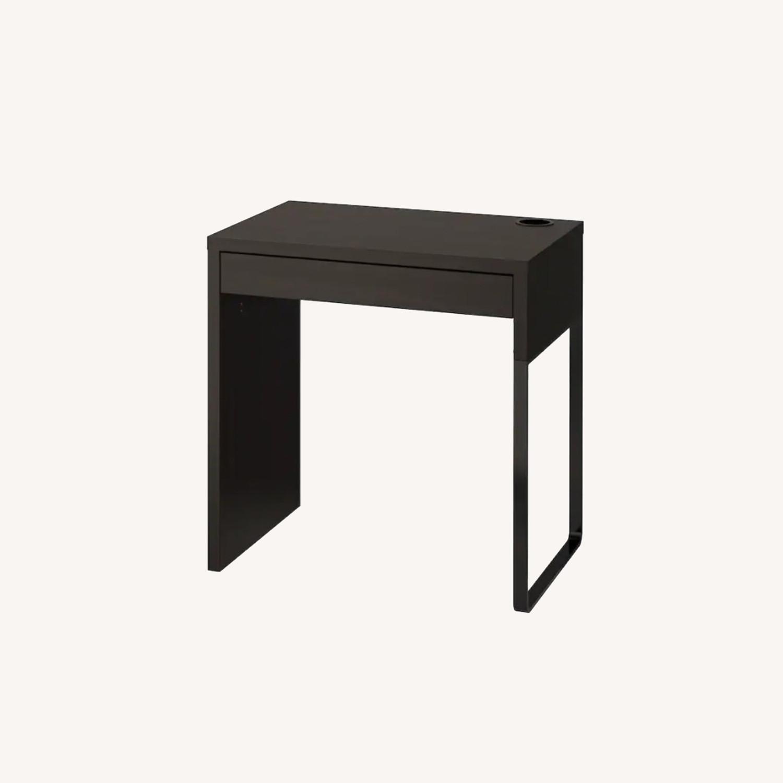 IKEA Dark Brown Desk - image-0