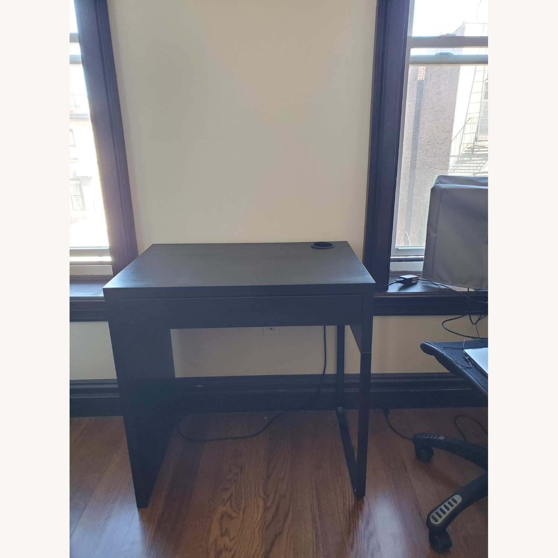IKEA Dark Brown Desk - image-1