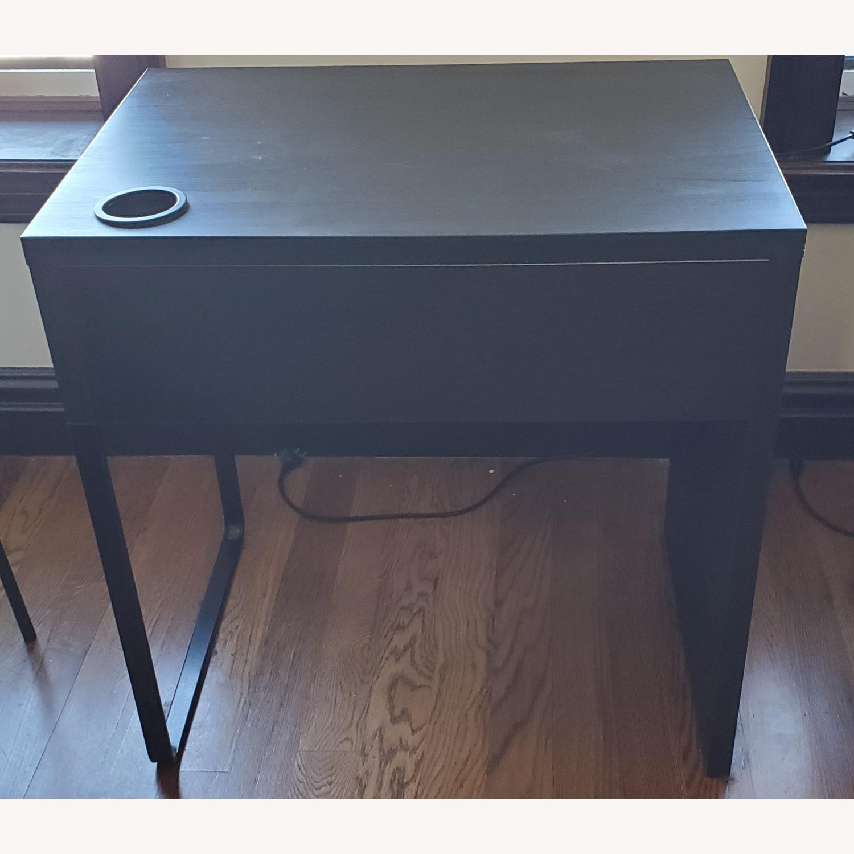 IKEA Dark Brown Desk - image-2