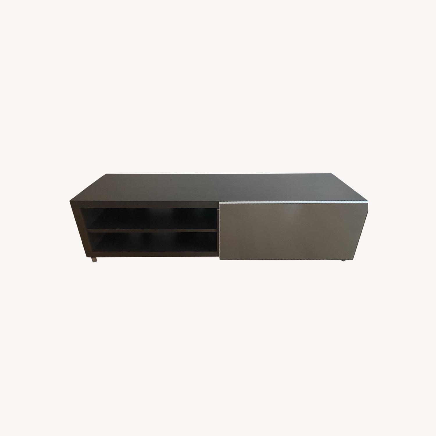 Lignet Roset Media Storage in Ebony Oak - image-0
