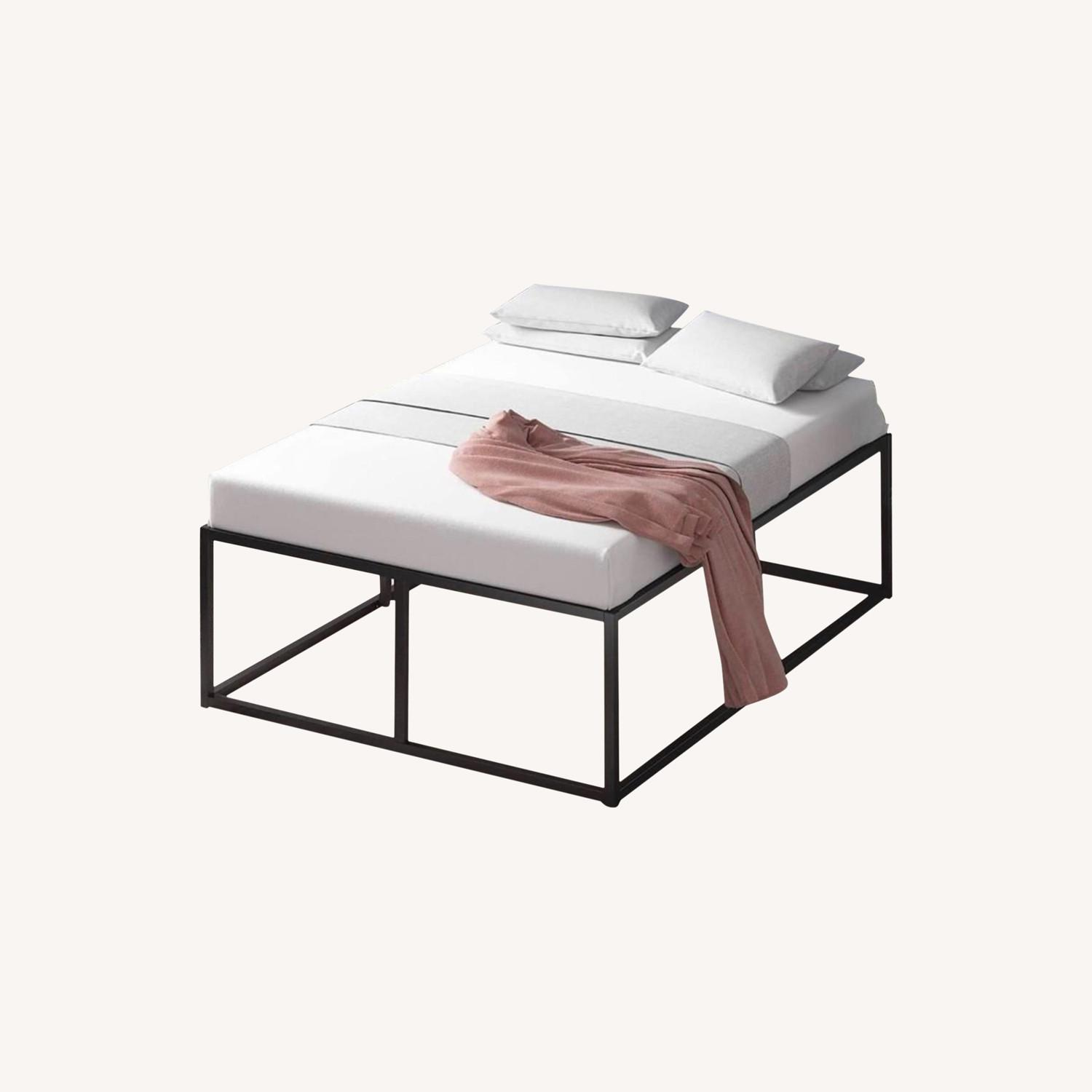 Queen Size Bed Frame - image-0
