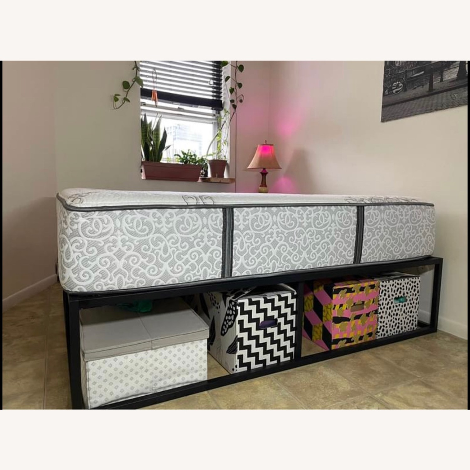 Queen Size Bed Frame - image-1